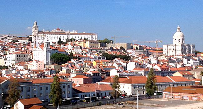 View from Ship Lisbon