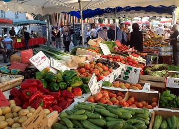 Ajaccio market