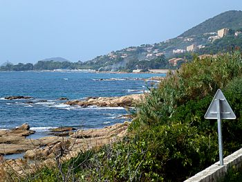 Ajaccio west coast