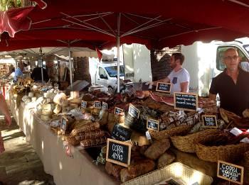 Market stall Ajaccio
