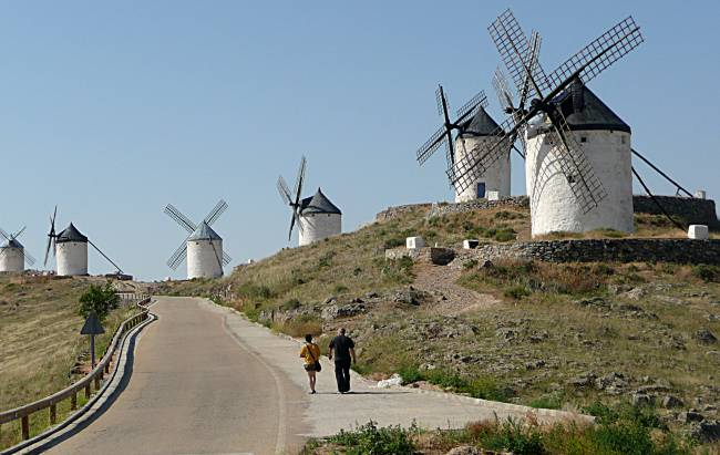 Windmills of La Mancha