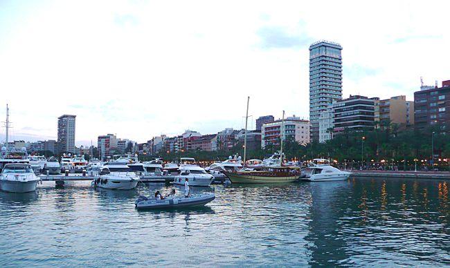 Alicante waterfront