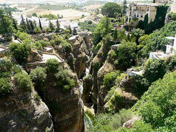 El Tajo gorge Ronda