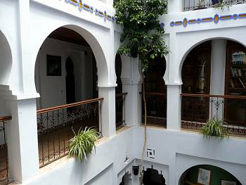 Riad Casa Hassan balcony
