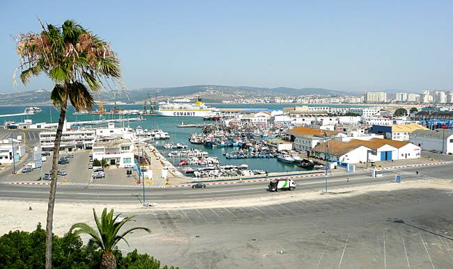 Tangier old port
