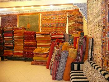 Carpet shop Marrakech