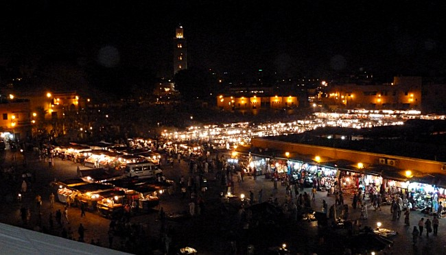 Djemaa el Fna night