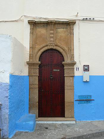Door Kasbah of the Oudaias