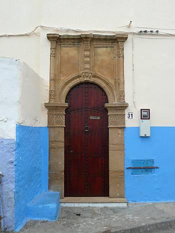 Door Kasbah of the Oudaias
