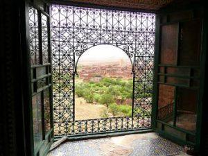 Telouet window