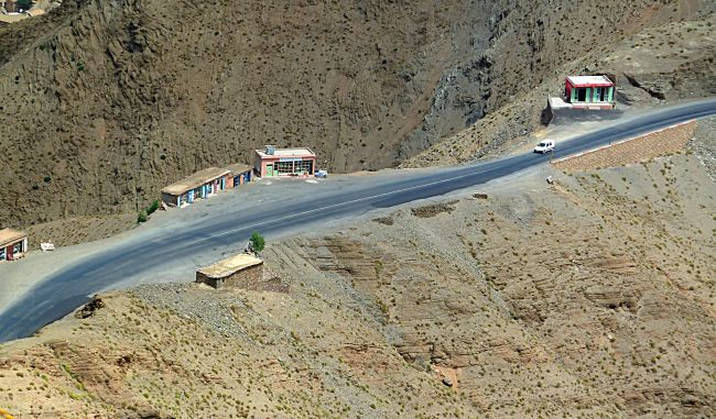 Tizi n'Tichka road