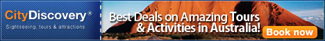 Sightseeing, Tours, Attractions and Things to do in Australia